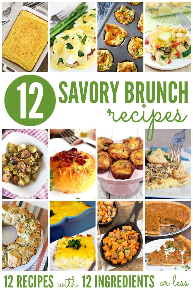 12 Savory Brunch Recipes | Bread Booze Bacon