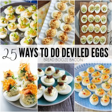 I swear I could eat deviled eggsby the dozen. They're the most poppable bites! Each one of these 25 deviled egg recipes will make your taste buds sing!