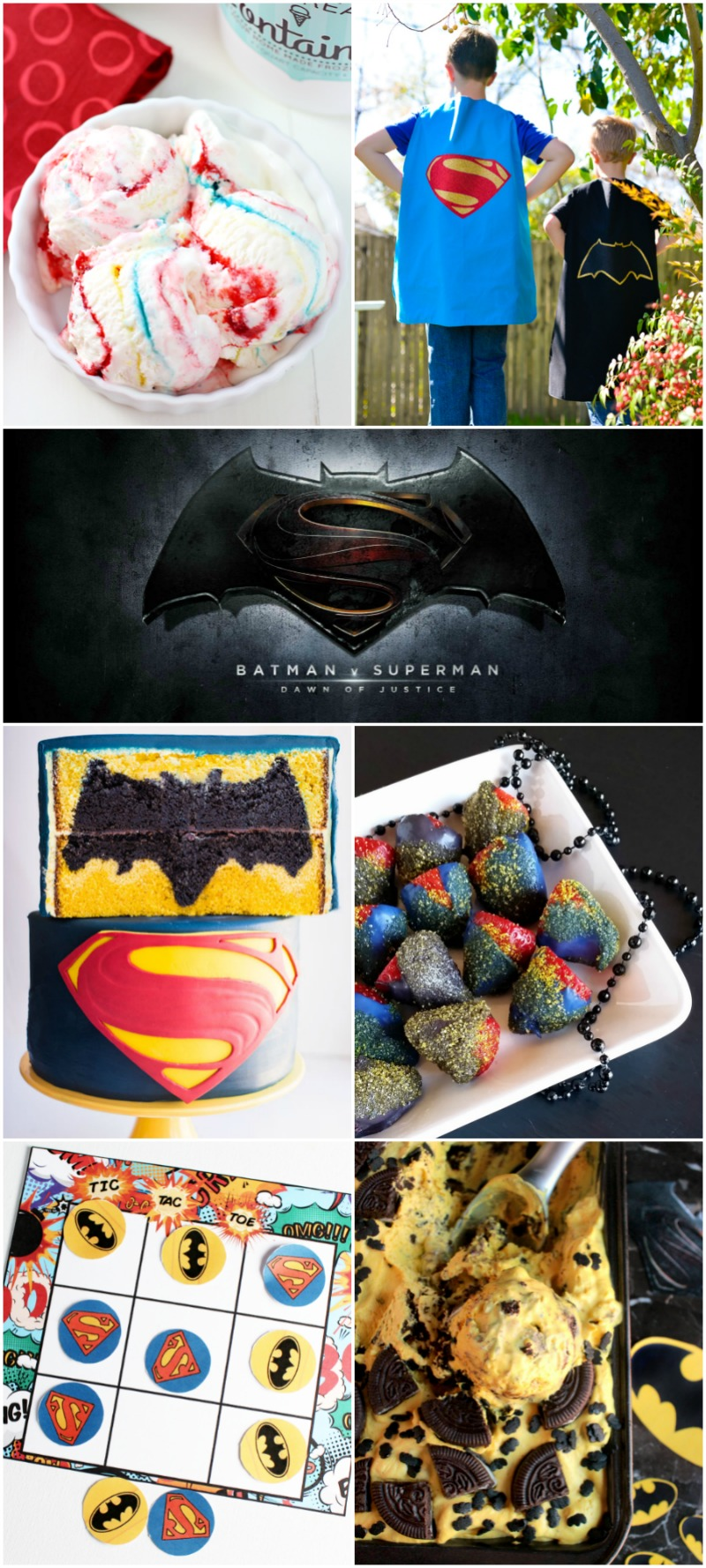 10 Batman vs Superman Party Ideas | Bread Booze Bacon