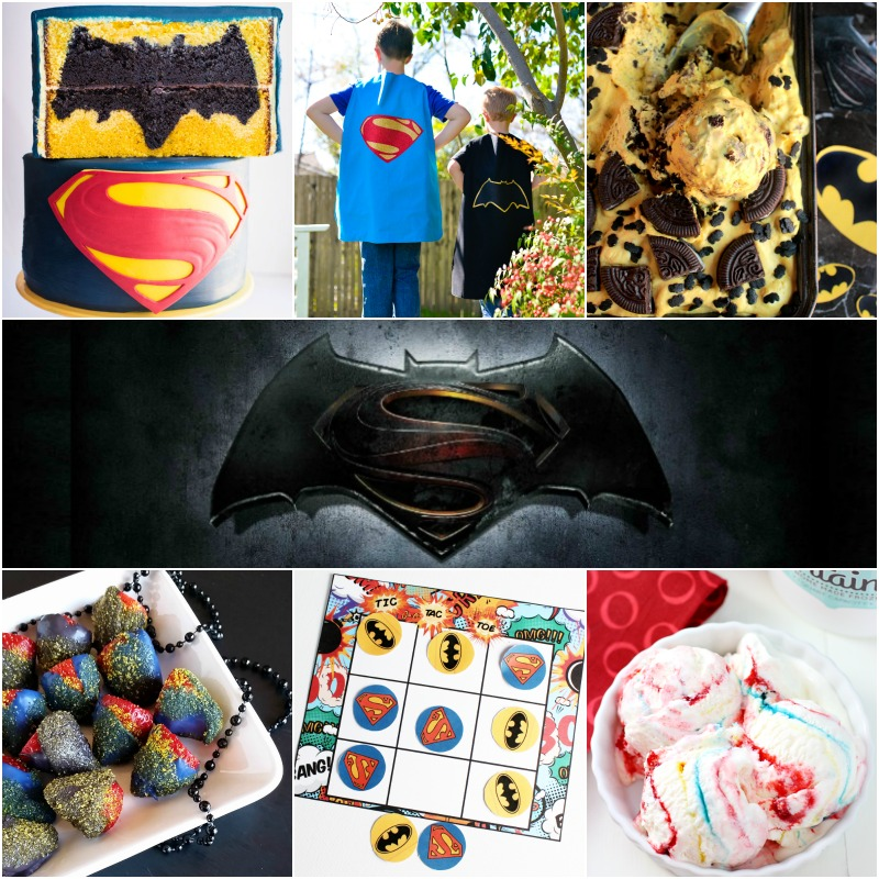 10 Batman vs Superman Party Ideas | Bread Booze Bacon