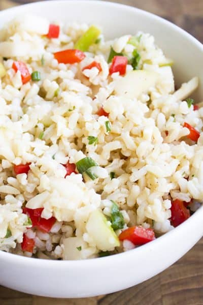Brown Rice & Apple Salad