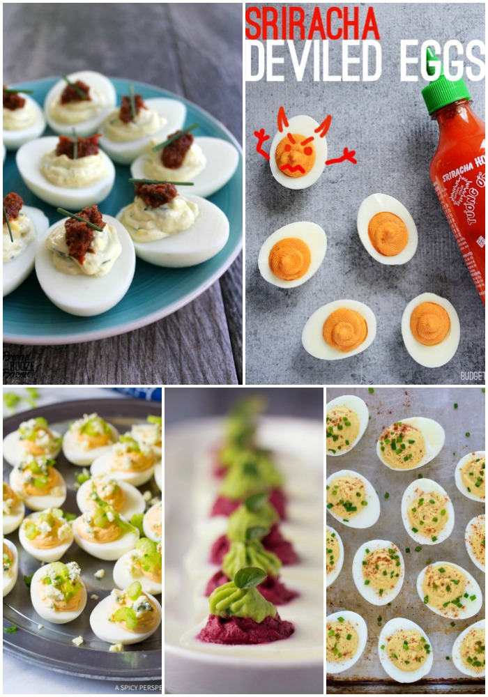 I swear I could eat deviled eggs by the dozen. They're the most poppable, little bites of awesomeness ever! So we're showing you 25 Ways to Do Deviled Eggs to make your taste buds sing!