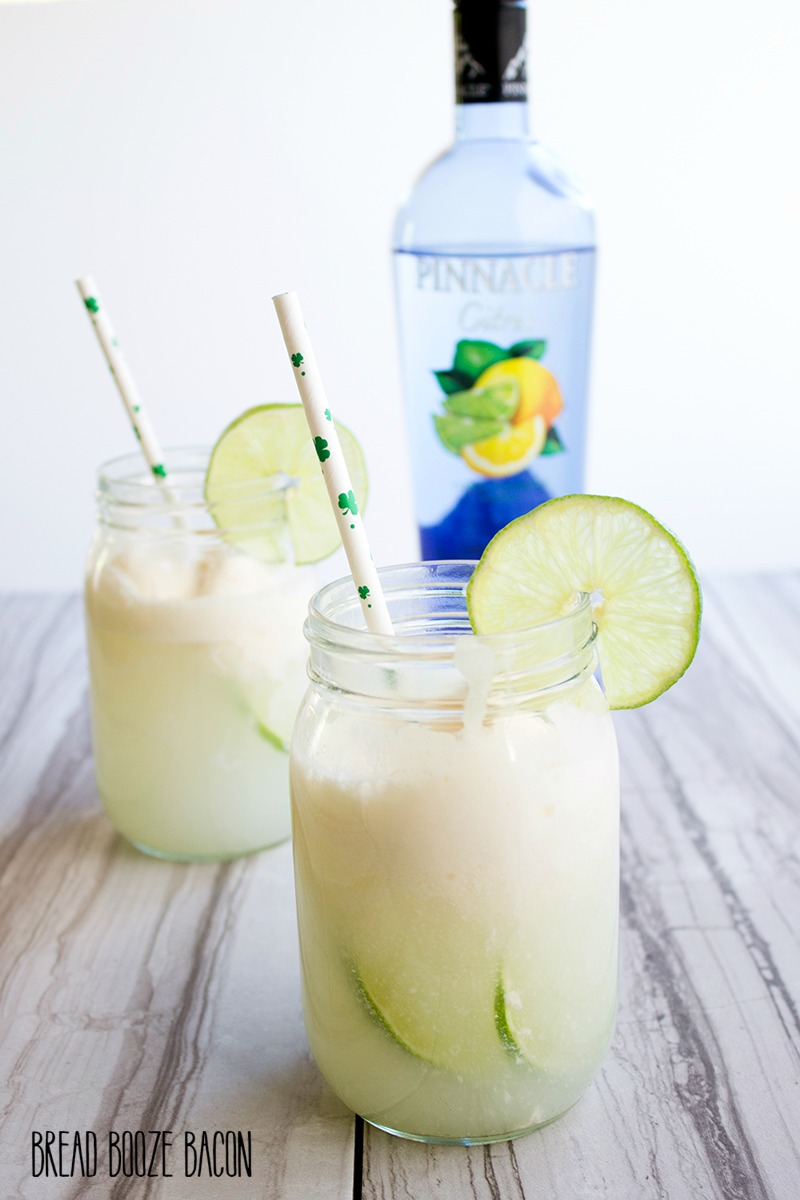 Forget creamsicles! Our Spiked Lime Cream Soda is where it's at for a refreshing, citrusy cocktail!