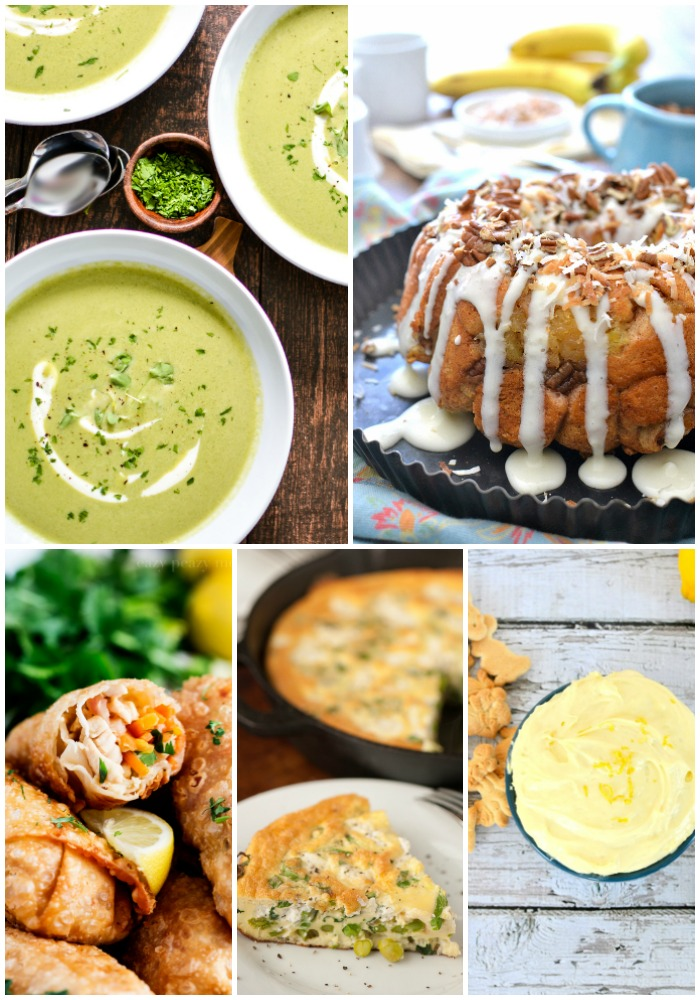 Shake off the winter funk and get ready to dive into these 30 Spring Recipes! Each one will brighten your day and make you happy for Spring!