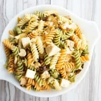 Caramelized Onion & Chicken Pasta Salad Recipe is one of the best damn pasta salads I've ever had!