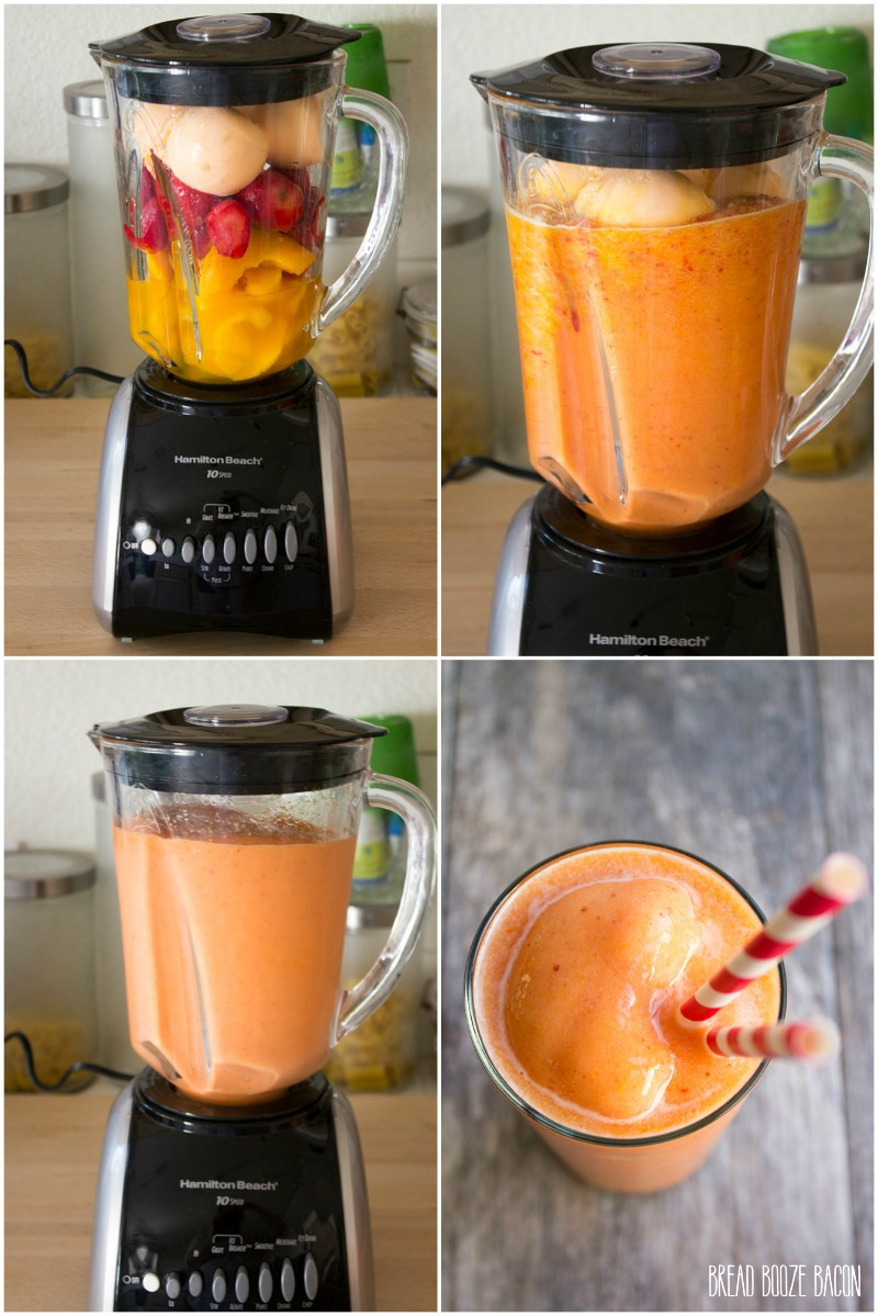 This Copycat Caribbean Passion Smoothie is just good as going to your local smoothie joint!