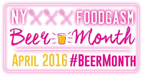 NY Foodgasm Beer Month 2016