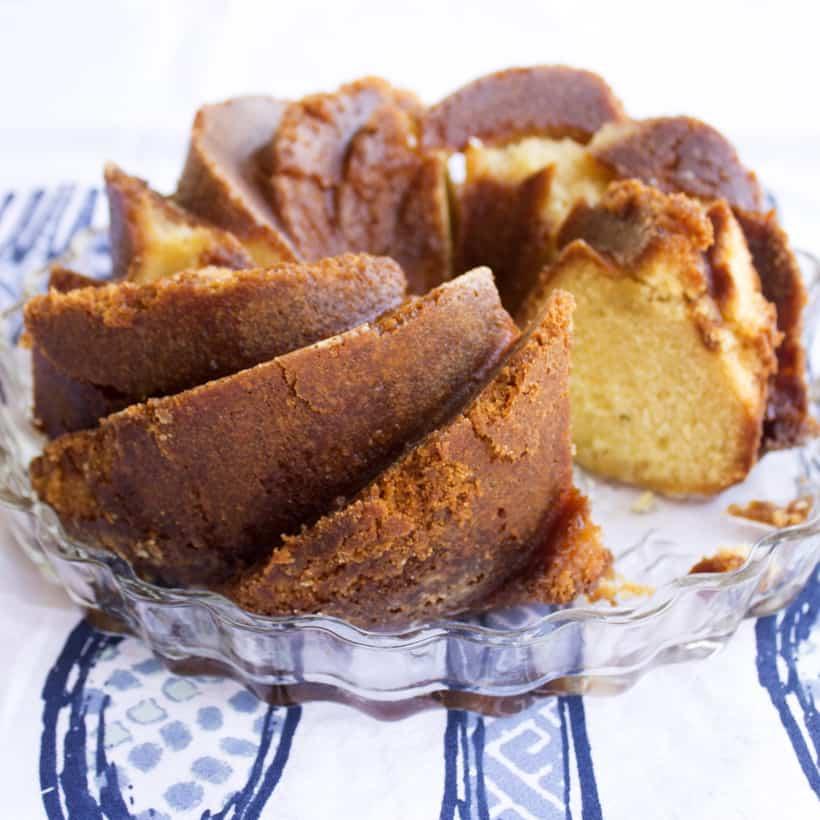 Lemon Caramel Icebox Cake