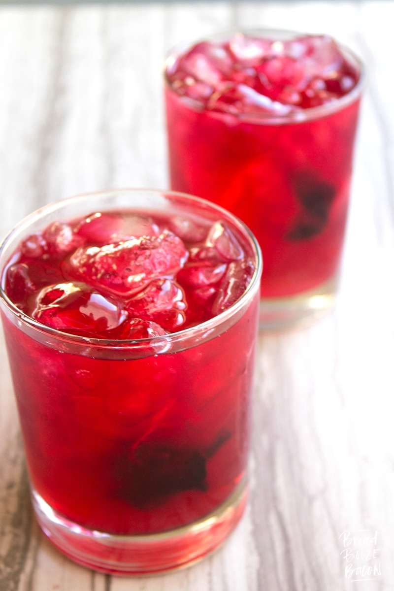 Our Spiked Hibiscus Lemonade everything I love about serving a ...