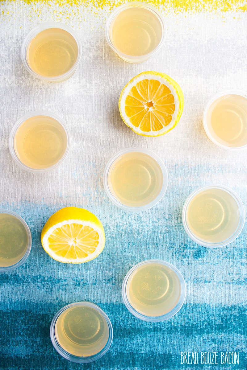 These Arnold Palmer Vodka Jello Shots aren't your mama's Arnie Palmer! Spiked with citrus vodka, these little guys will make you forego the fairways to party at the clubhouse!