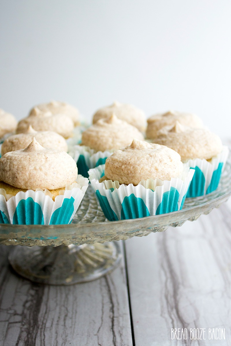 These Chai Latte Cupcakes are a tea party inspired treat that will ...