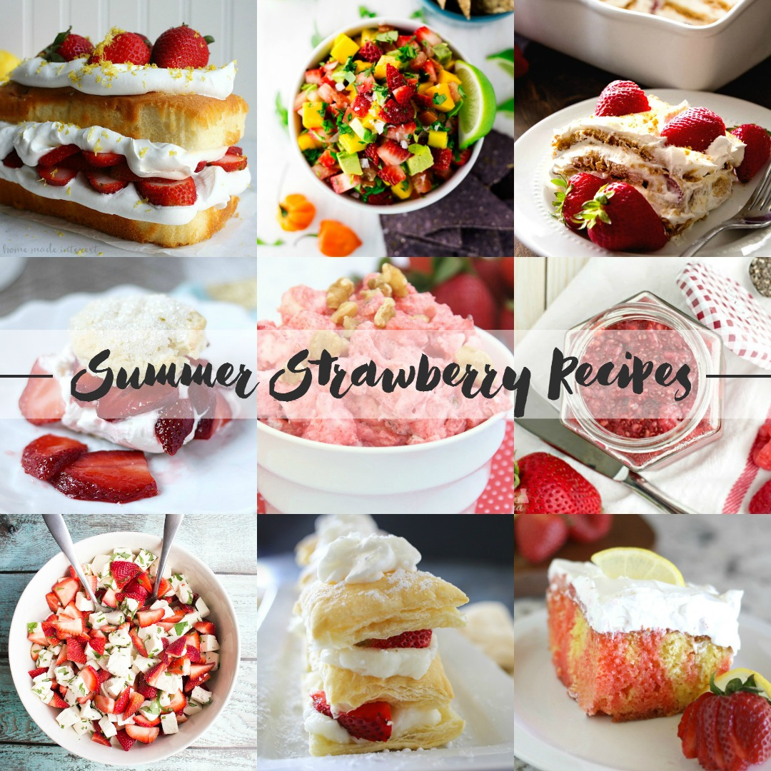 9 Summer Strawberry Recipes | Bread Booze Bacon