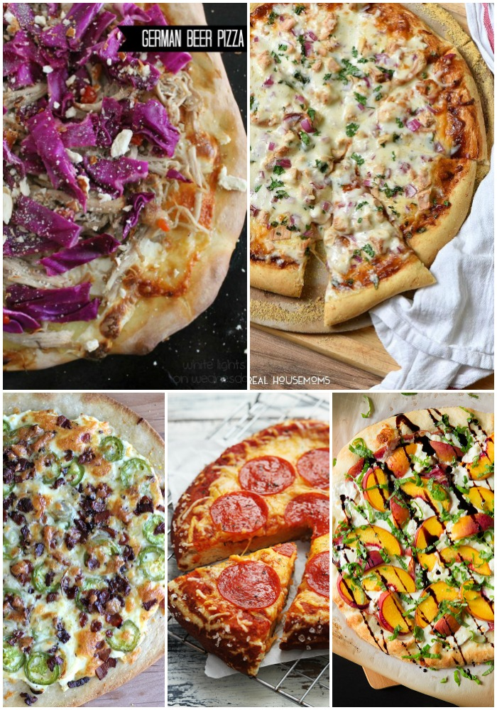 I swear I could live off of pizza. While I order out a fair amount, making a homemade pizza is always one of my favorite dinners. These 25 Pizza Recipes are oh so cheesy, and packed with incredible flavors that'll make you forget all about picking up the phone for takeout.