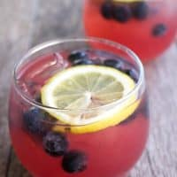 Spiked Blackberry Lemonade Punch is a party-ready combination of my favorite summer flavors!