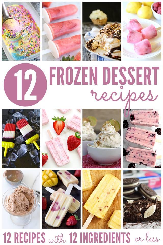 10+ Frozen Dessert Recipes | Bread Booze Bacon