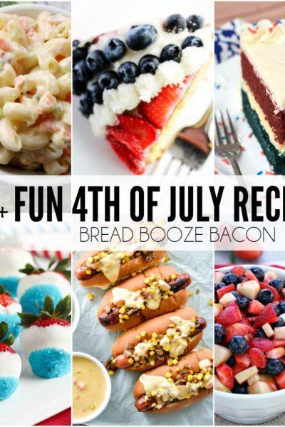 25+ Fun 4th of July Recipes