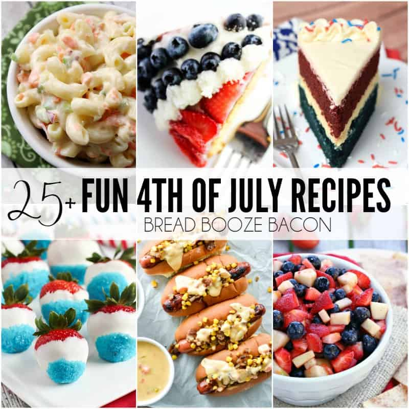25+ Fun 4th of July Recipes