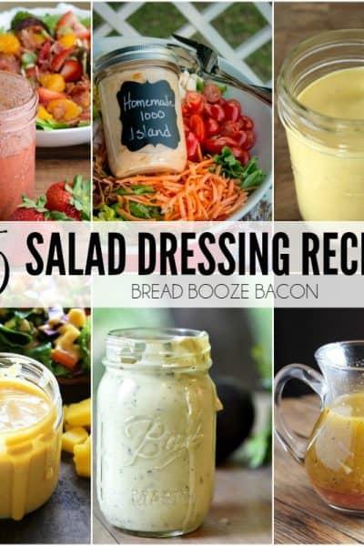 25 Salad Dressing Recipes