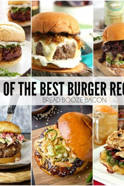 Some days there's just nothing better than a big juicy burger to sink your teeth into! We've rounded up 25 of the Best Burger Recipes to satisfy the carnivore in you!
