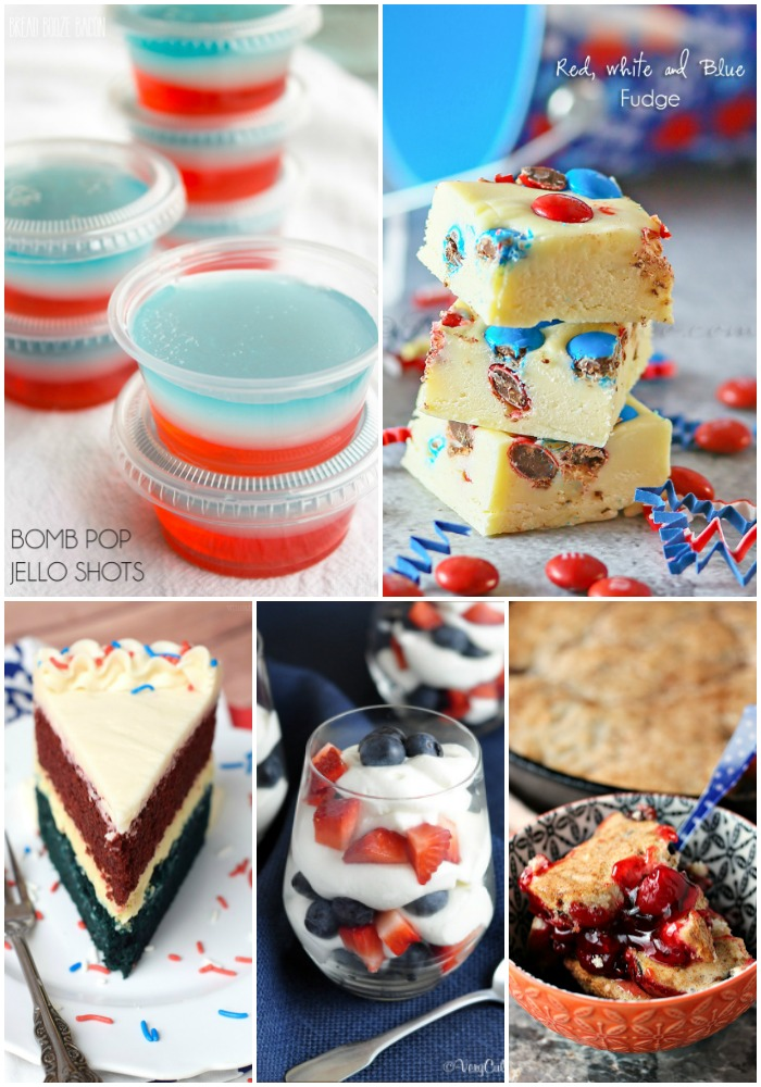 Ready to start your fourth with a bang? These 25+ Fun 4th of July Recipes have everything from your new favorite cookout dishes to showstopping holiday themed treats to add some serious wow factor to your celebration!