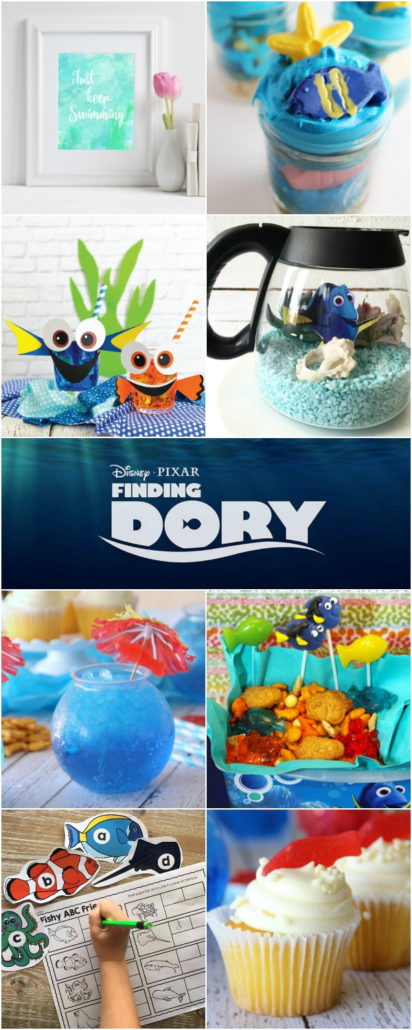 10+ Finding Dory Party Ideas | Bread Booze Bacon