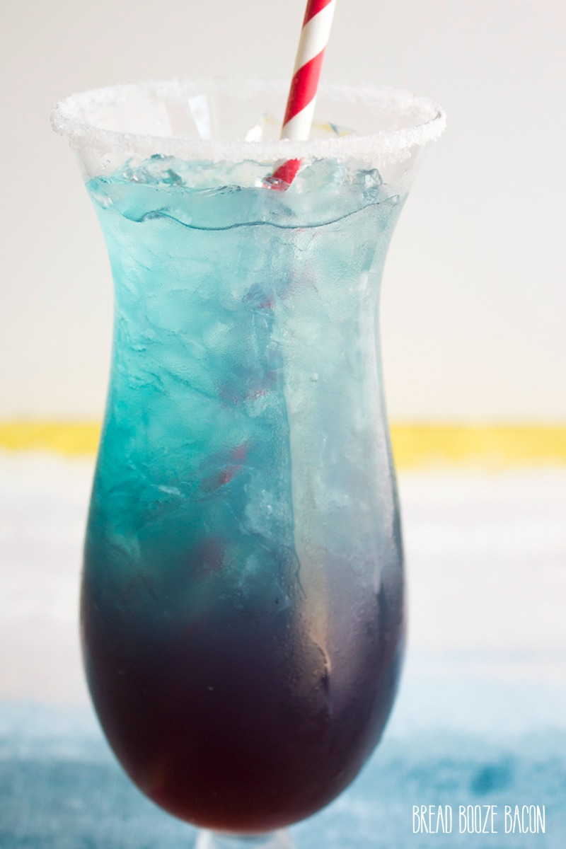 Shark Attack Blue Margarita • Bread Booze Bacon Orange Jello