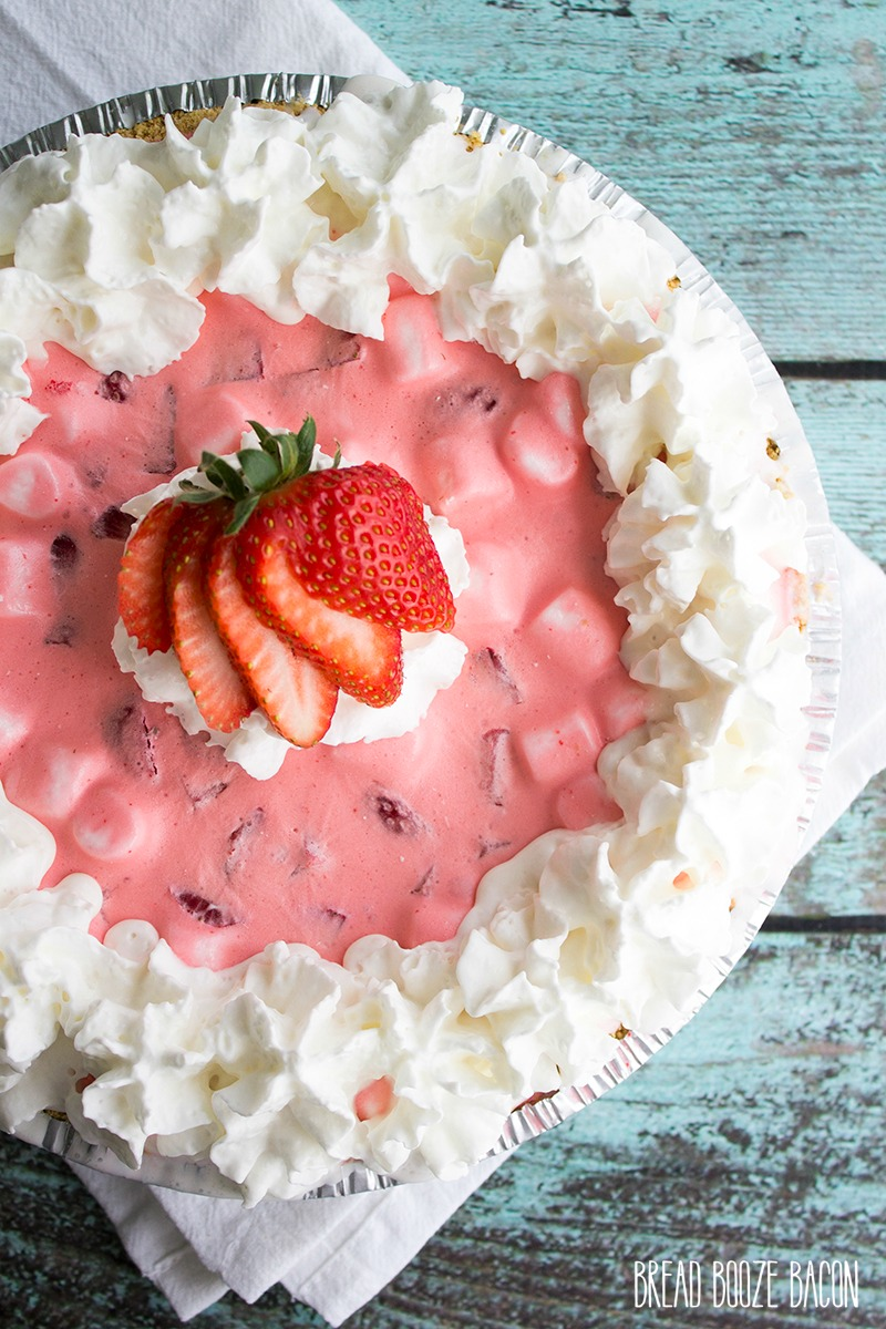 Strawberry Fluff Pie is a strawberry flavor explosion everyone loves! This easy no-bake summer dessert is made ahead of time and a fun way to end a meal!