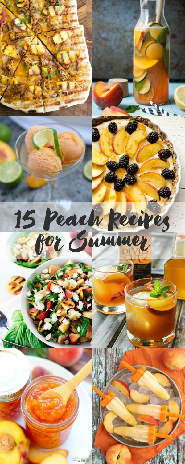 15 Peach Recipes for Summer | Bread Booze Bacon