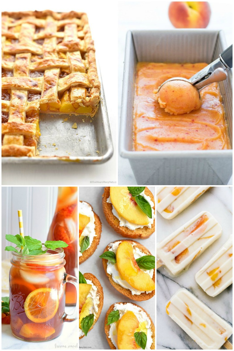 I've loved peaches ever since I was a kid and with these 25 Summer Peach Recipes You can enjoy your favorite fruit any time of day!