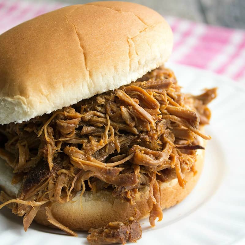 Slow Cooker BBQ Pulled Pork is one of my favorite cook once and eat it all week long dishes!