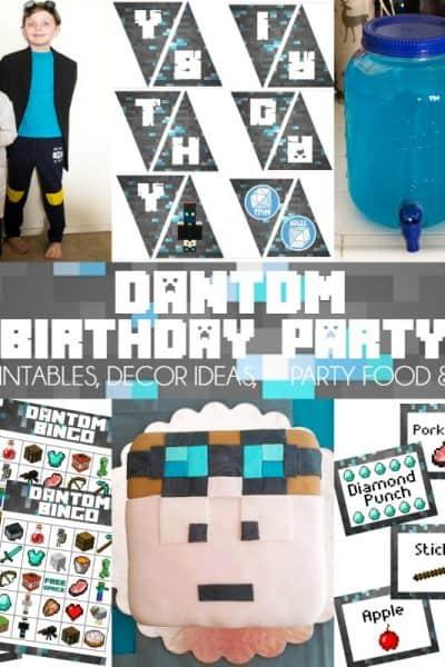 DanTDM Birthday Party