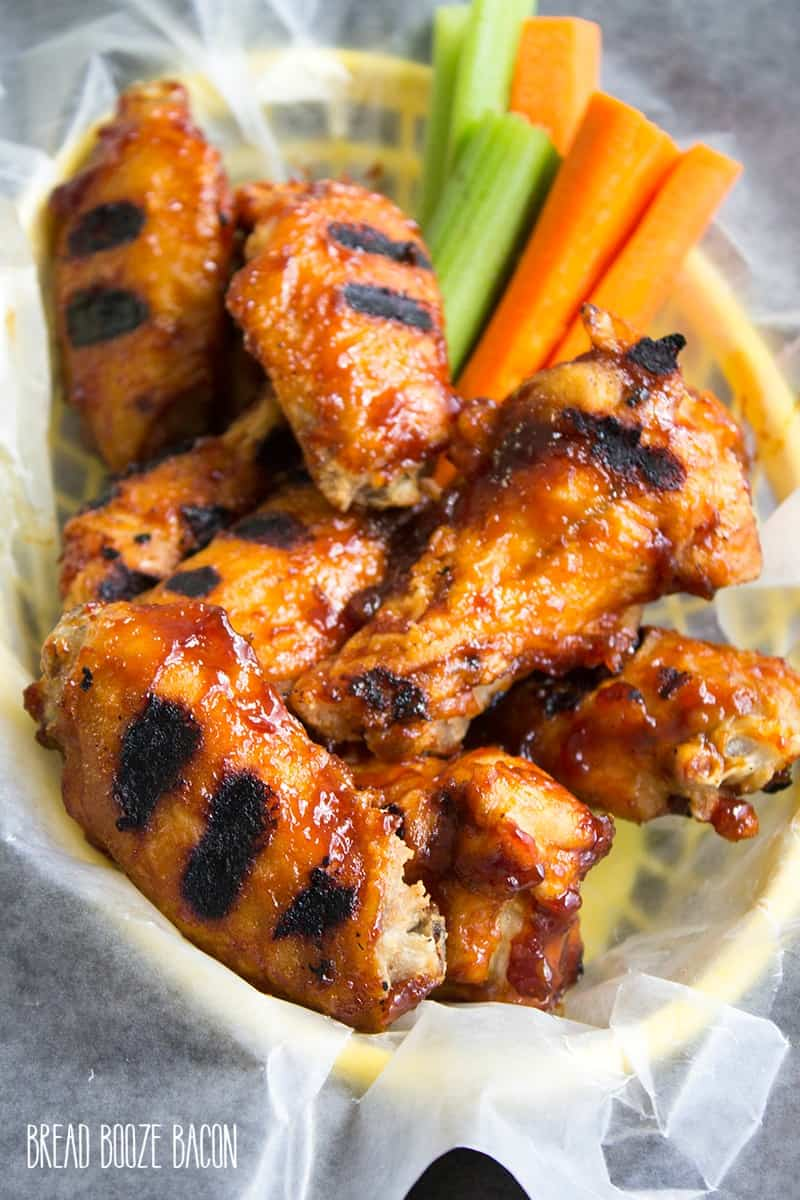 Roasted Garlic BBQ Chicken Wings Recipe are the best part of game day ...