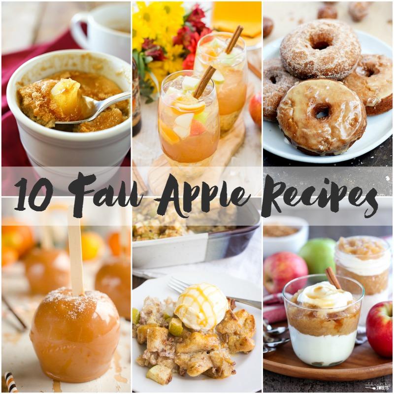10 Fall Apple Recipes | Bread Booze Bacon