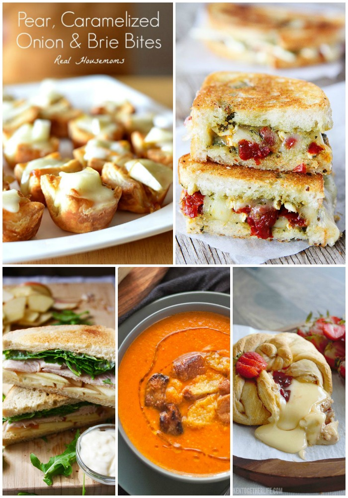 Is there anything better than ooey gooey cheese?! These 25 Brie Recipes will satisfy your cravings for all things creamy and delectable any time of day!