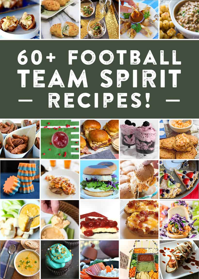 60+ Football Team Spirit Recipes | Bread Booze Bacon