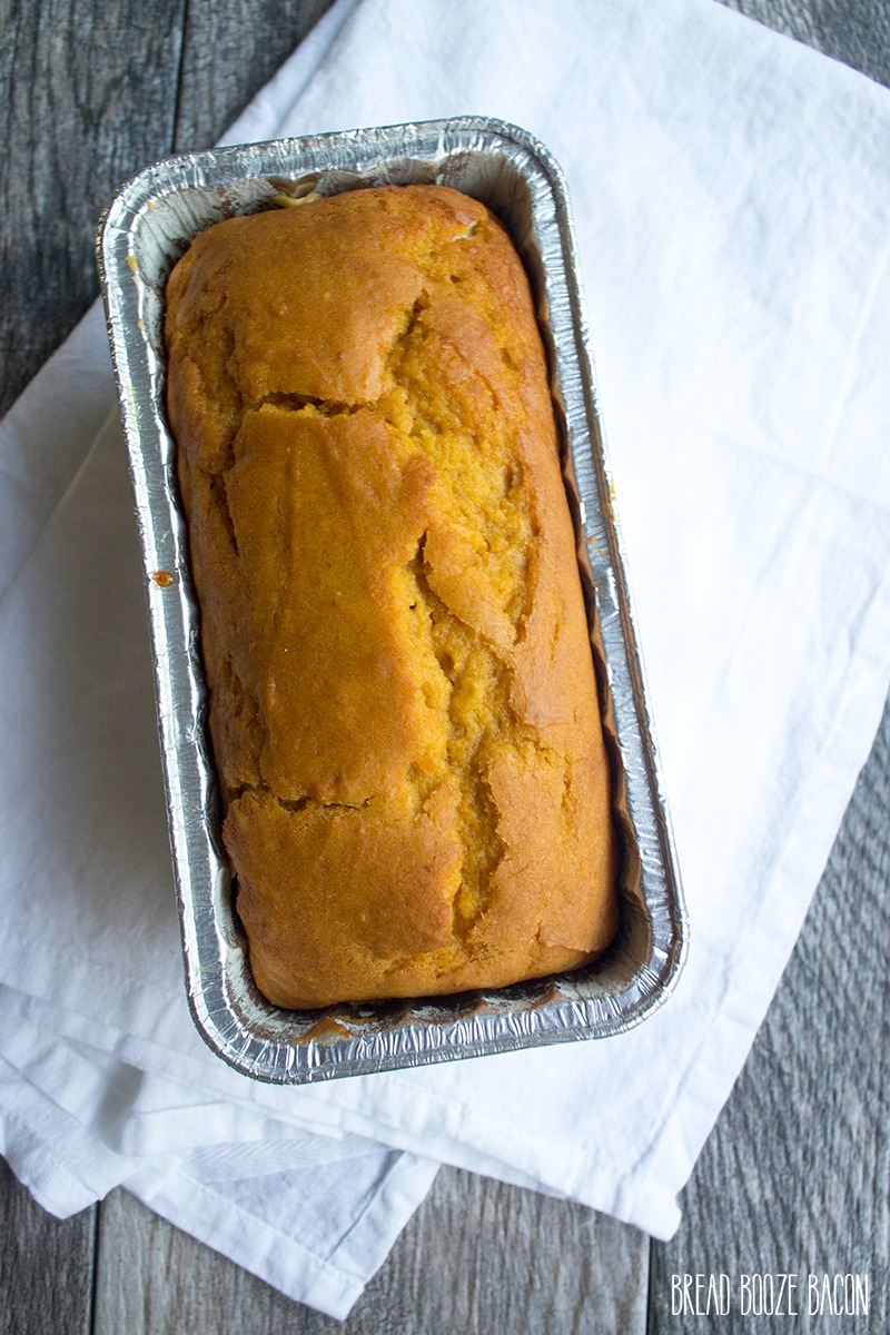 Cream Cheese Stuffed Pumpkin Bread - Bread Booze Bacon