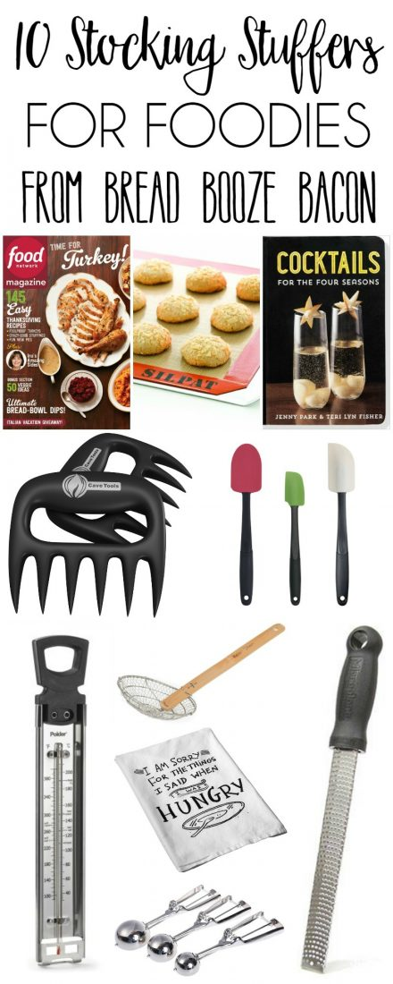 Christmas shopping is hard! But this year, I'm helping make things easier for you with my favorite 10 Stocking Stuffers for Foodies!