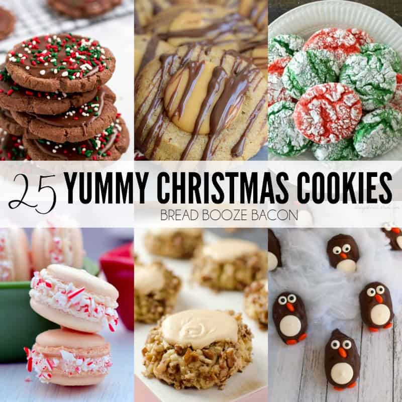 25 Yummy Christmas Cookies Bread Booze Bacon