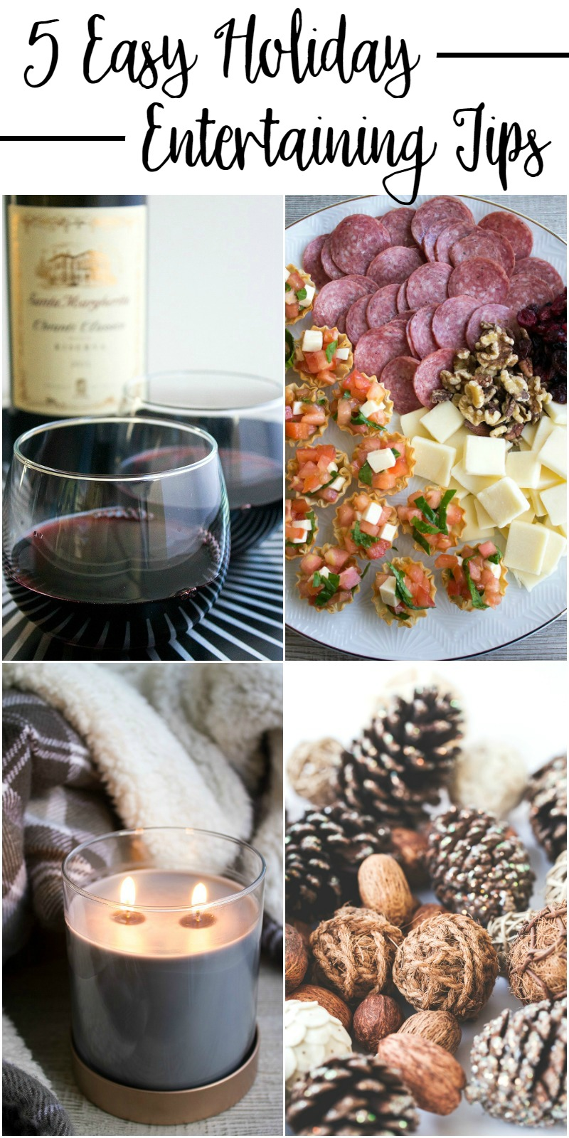 These 5 Easy Holiday Entertaining Tips will help you to have a fantastic holiday party that you'll able to enjoy and make your the house the place everyone wants to go to this holiday season!