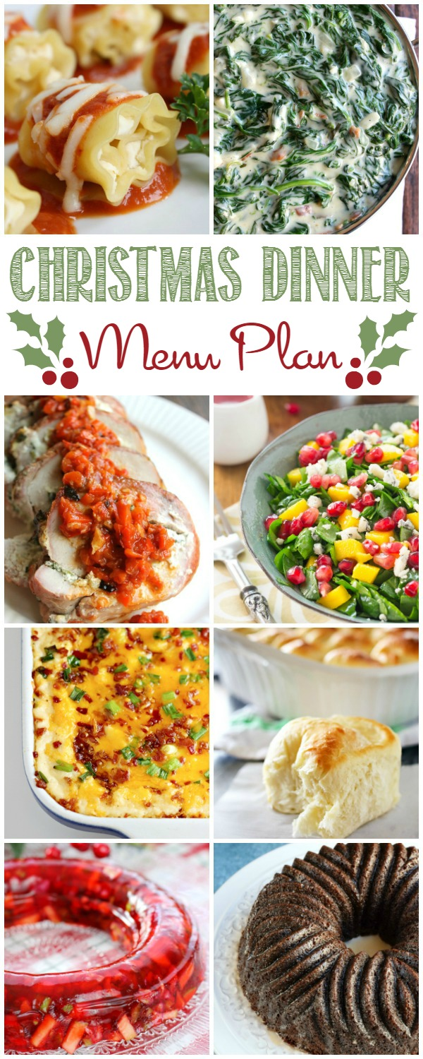 Serve a holiday dinner to remember with this Christmas Dinner Menu Plan!