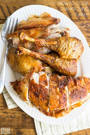 Don't let this big bird worry you! Learn How to Cook Thanksgiving Turkey and slice it up right for your holiday guests. This recipe is full proof and your turkey will come out juicy every time!