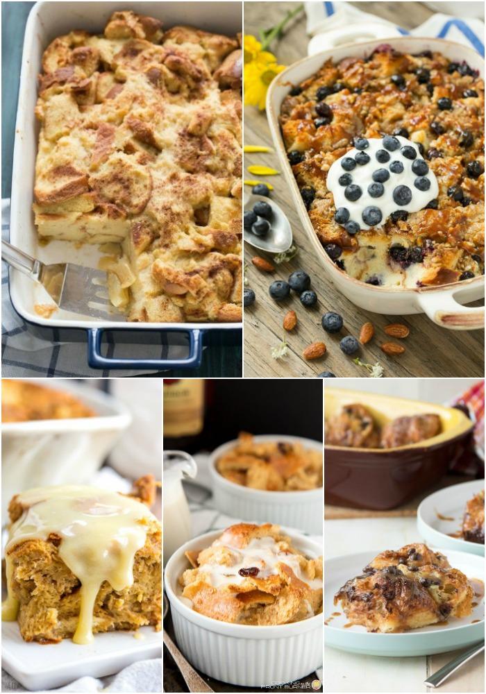 25 Bread Pudding Recipes - Bread Booze Bacon