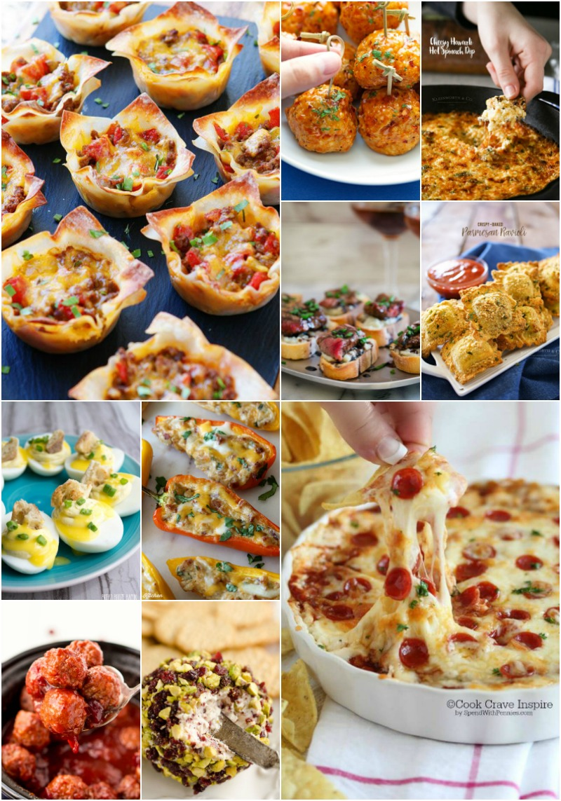 Get ready to get the party started with 50 of the Best Party Appetizers. All my favorites are here and they're all completely irresistible!