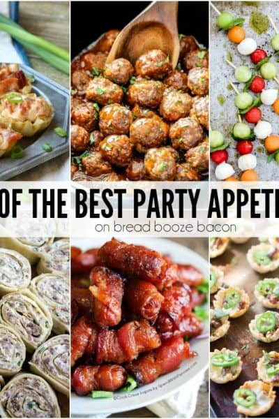50 of the Best Party Appetizers