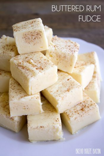 Buttered Rum Fudge is a sinfully good treat you won't be able to stop eating!