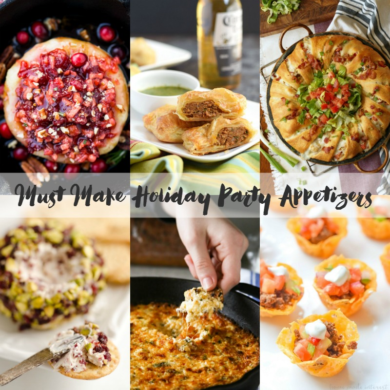 Must Make Holiday Party Appetizers | Bread Booze Bacon