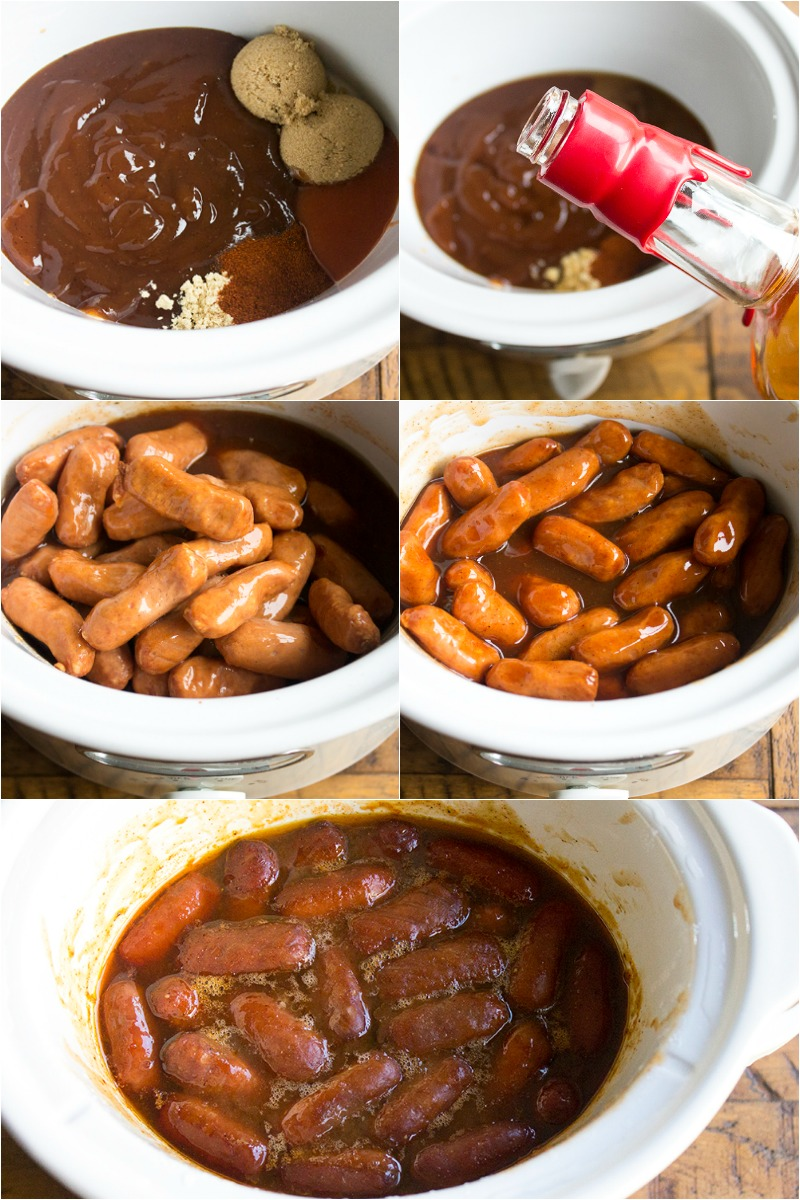 Bourbon BBQ Little Smokies are a flavorful appetizer that's easy to make and oh so good!