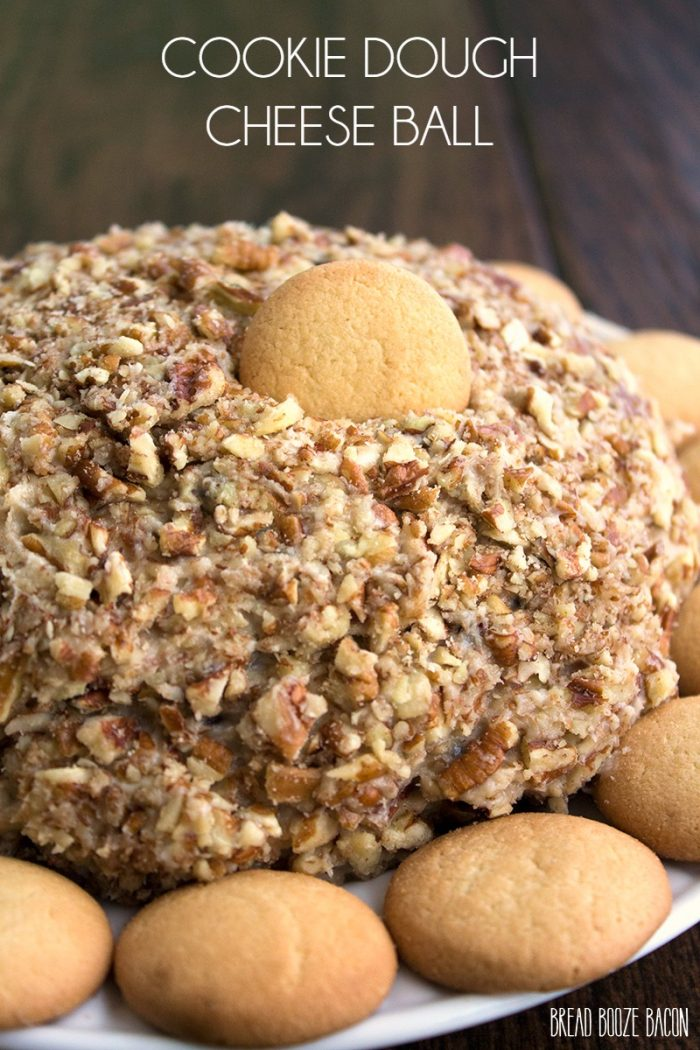 This Cookie Dough Cheese Ball is an addicting dessert that'll leave you dreaming about your next bite!