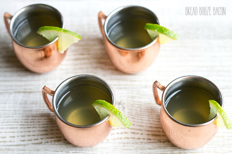 Turn a classic cocktail into a party ready shot with this easy Moscow Mule Jello Shots recipe!