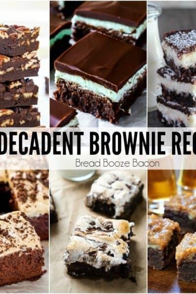 25 Decadent Brownie Recipes